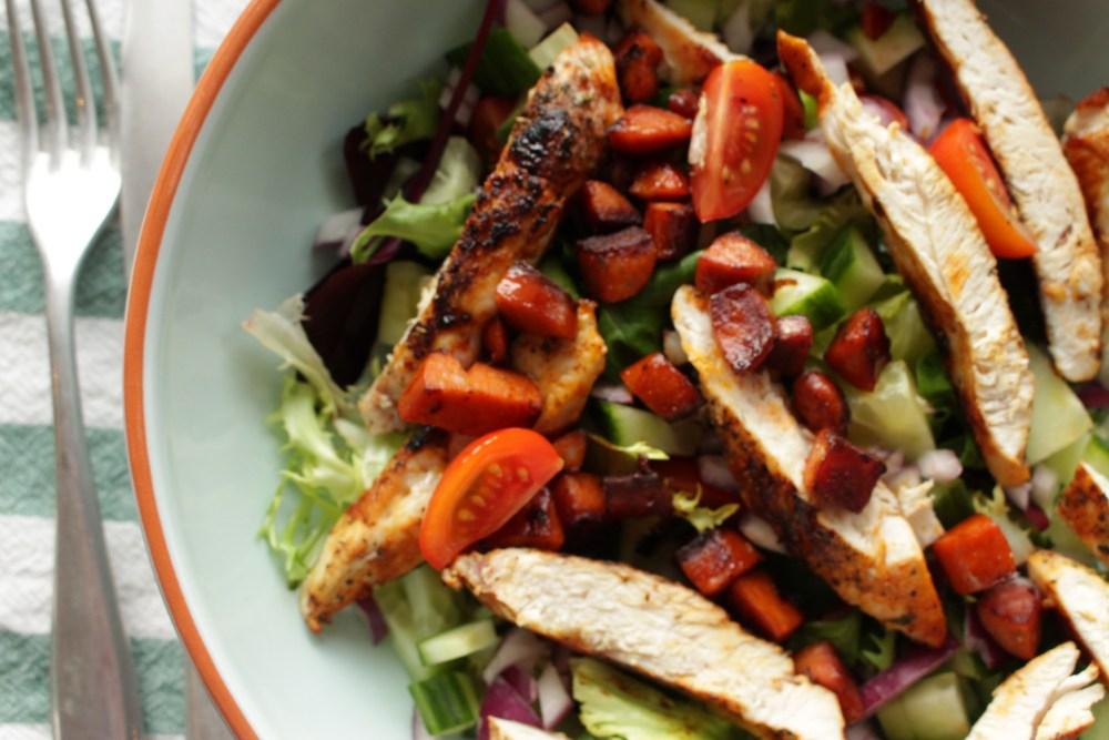 Salat - allergimat på reise