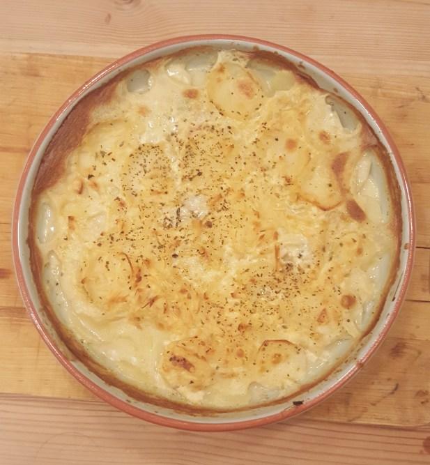 Gluten- og melkefri Hvit saus fungerer til fløtegratinerte poteter