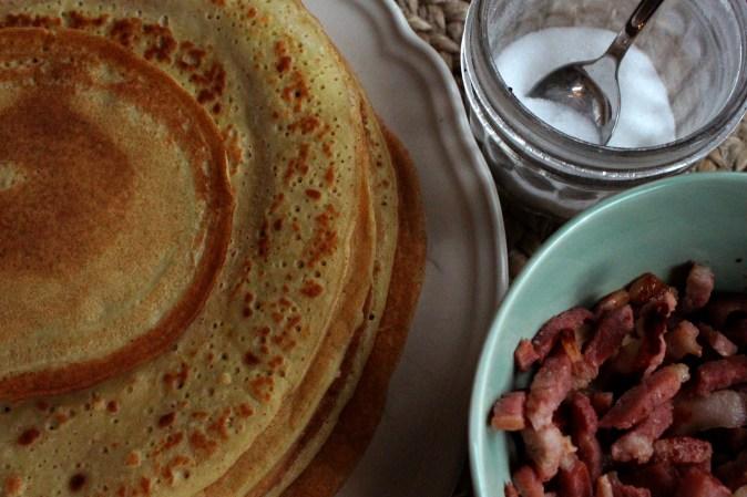 Barnevennlig - pannekaker uten gluten og melk