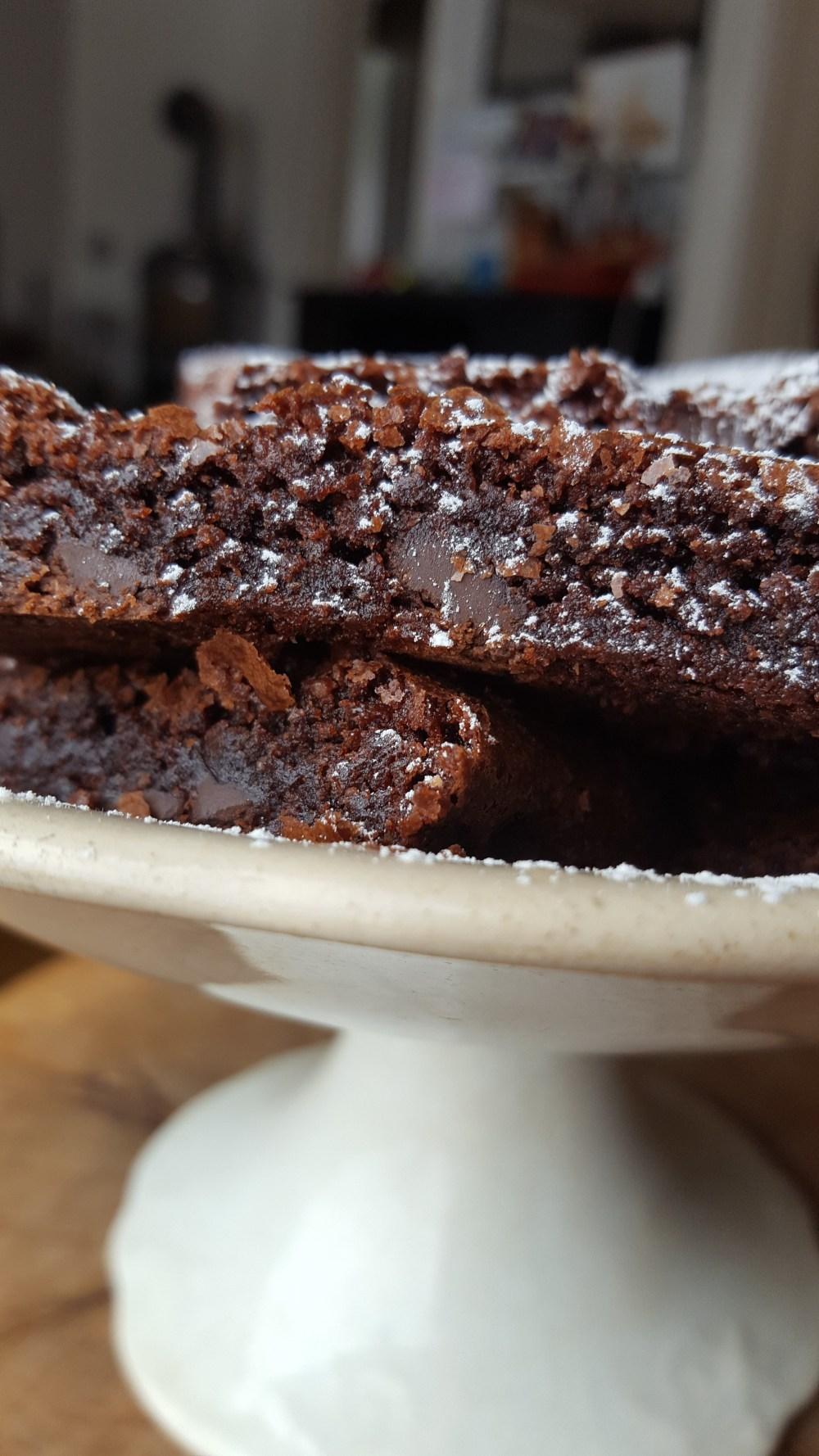 Gluten- og melkefri brownies