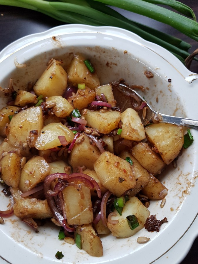 Lun potetsalat uten melk og egg