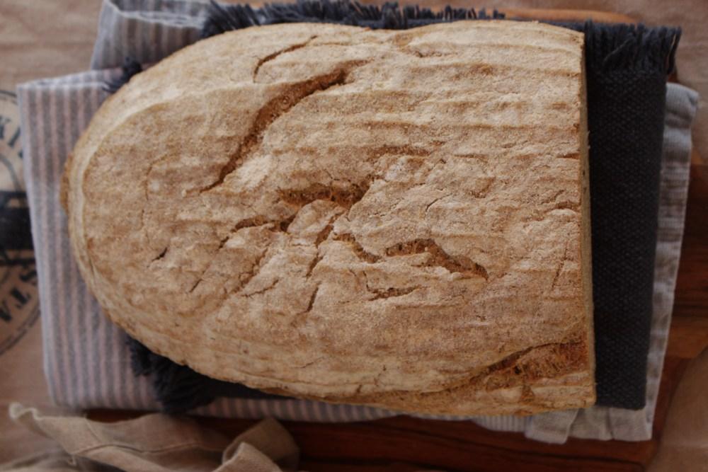 Glutenfritt landbrød med havre