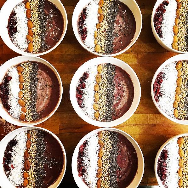smoothies acai bowl sans gluten Lyon