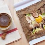Crepe sans gluten Paris Biosphere Cafe