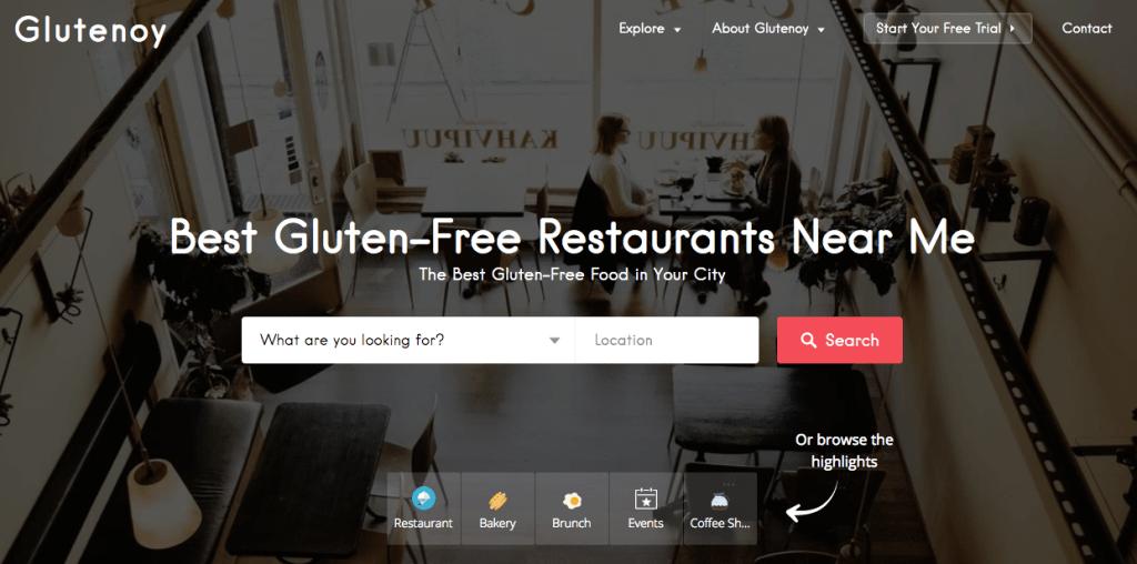 Glutenoy Gluten Free Food