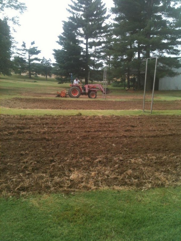 Courts tilled
