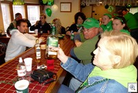 St pats crowd