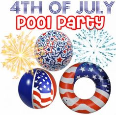 Pool party 4th
