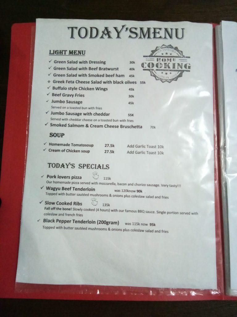 Par Four Cafe Pork Western By Chef Bule Glutton Wanderers
