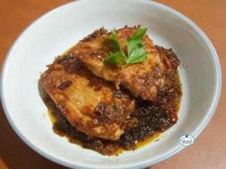Chicken Grill sambal udang