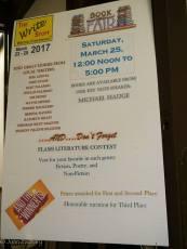 Sat Book Fair Flash Fiction