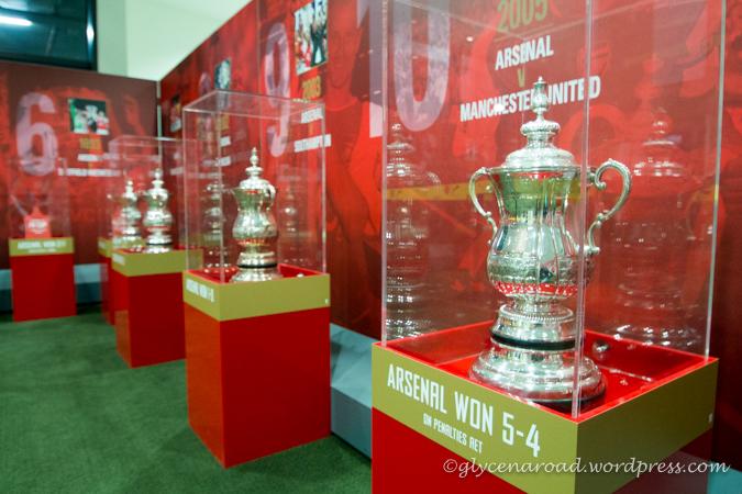 La salle des trophées...