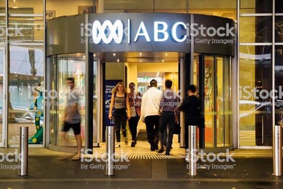 ABC studio entrance