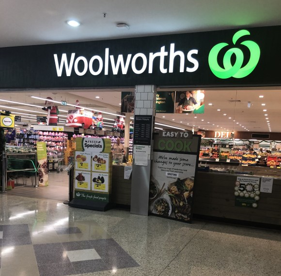 Woolworths entrance