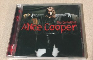Alice Cooper Definitive hits CD