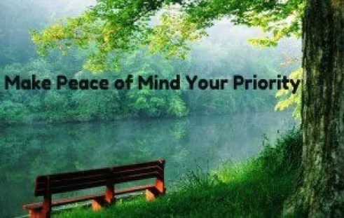Peace of Mind w Text