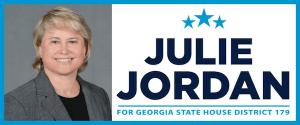 Julie Jordan is running for GA House seat 179