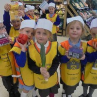 Reception Visit TESCO (Farm to Fork)