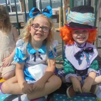 Mad Hatter's Tea Party in Reception