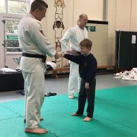 Year 1 enjoy a judo taster session