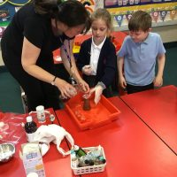 Science club continues for year 2 children