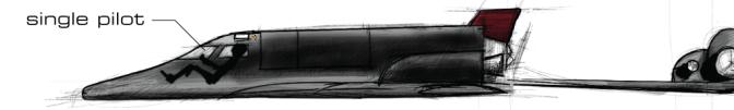 The USN Orbital Interceptor IS-9 Raven (Crow Crap)