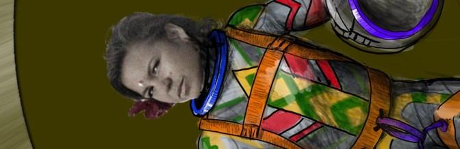 Captain Radish Saumet's Spacesuit