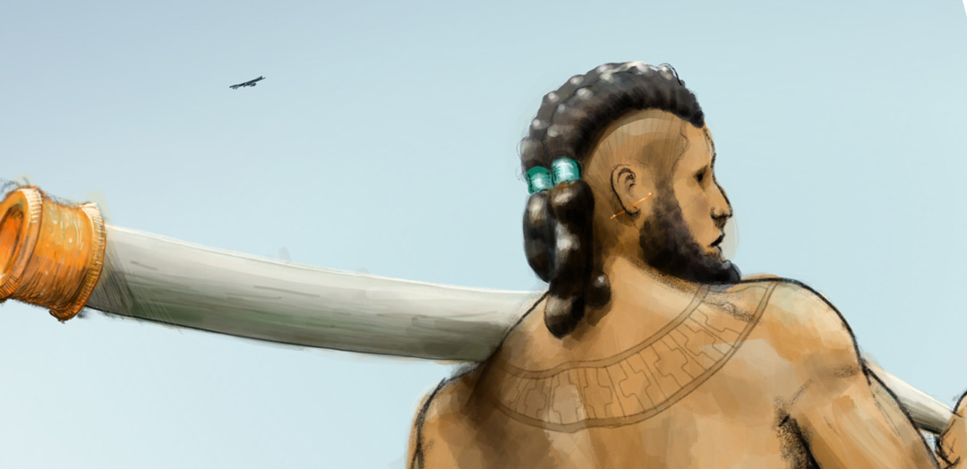 Eshud-Numash, Bearer of the Last Tusk of Grandmother Thunder