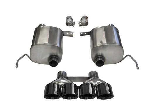 Corsa C7 Exhaust System (black)