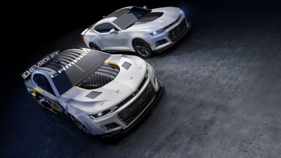 Chevrolet's Performance Design studio worked closely with raci