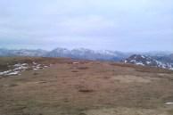 Looking toward the Arrochar Alps