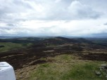 Looking towards Black Hill and the Ochils