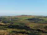 Corlic Hill In The Distance