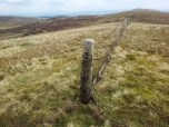 County boundary fence