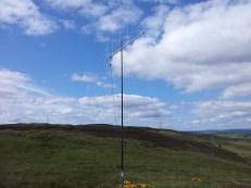 5 ele beam on Lurg Moor