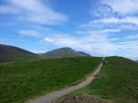 Nearing the top of Latrigg