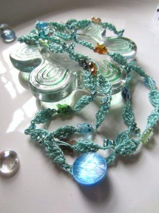 Little Fishies Necklace/Bracelet Wrap