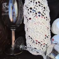 crochet, wine tote, etsy, blog, cotton yarn 007