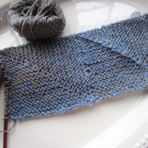 I am using a much larger needle size than is recommended, but I am liking the results.