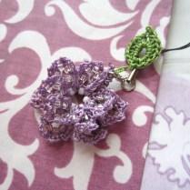 lavender, beaded crochet, etsy 019