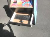 The keyboard drawer