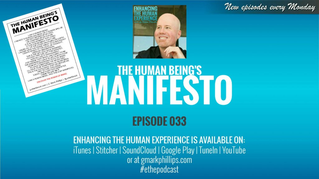 The Human Being's Manifesto – ETHE 033