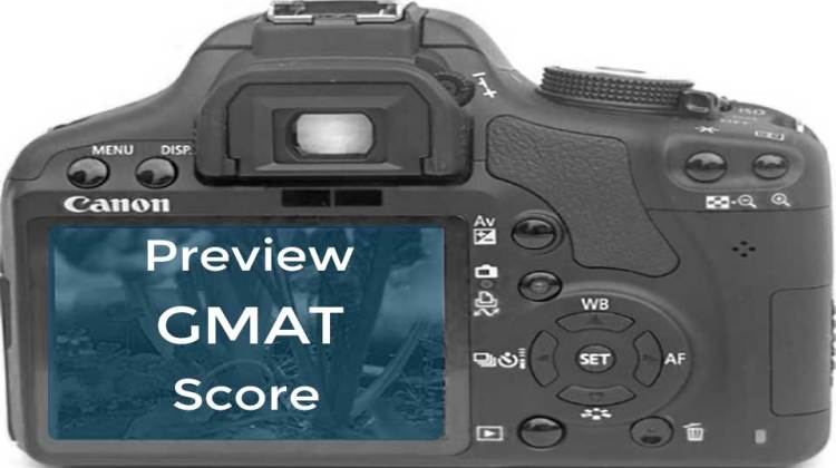 New GMAT score preview feature