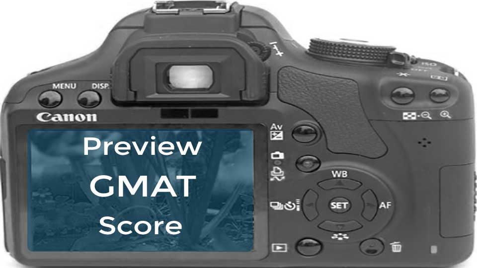 Score Preview Feature in GMAT