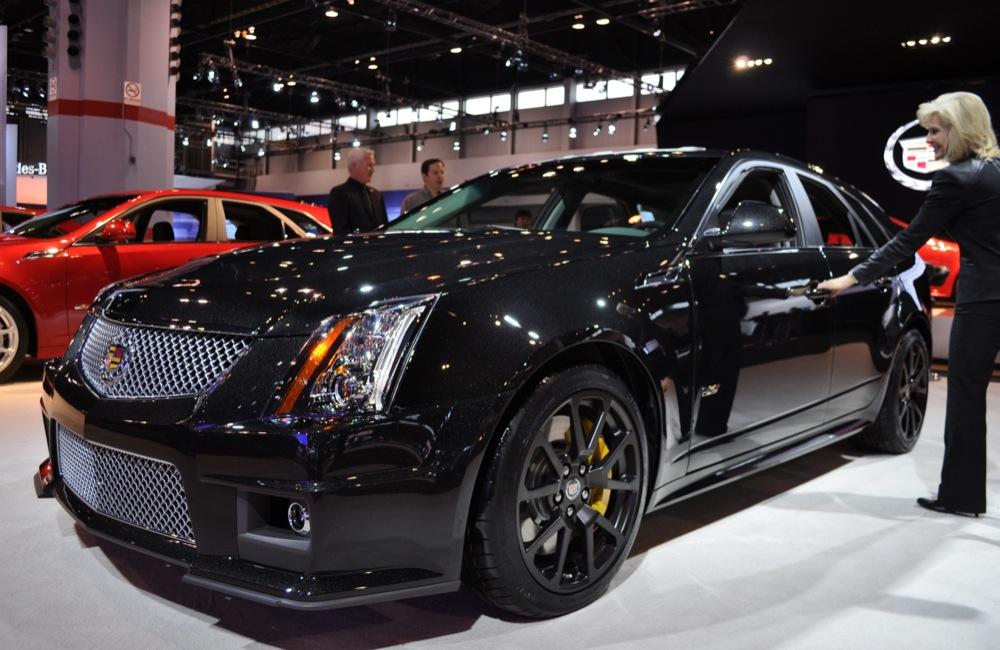 2011 Cadillac CTS V Wagon Black Diamond Chicago 2011
