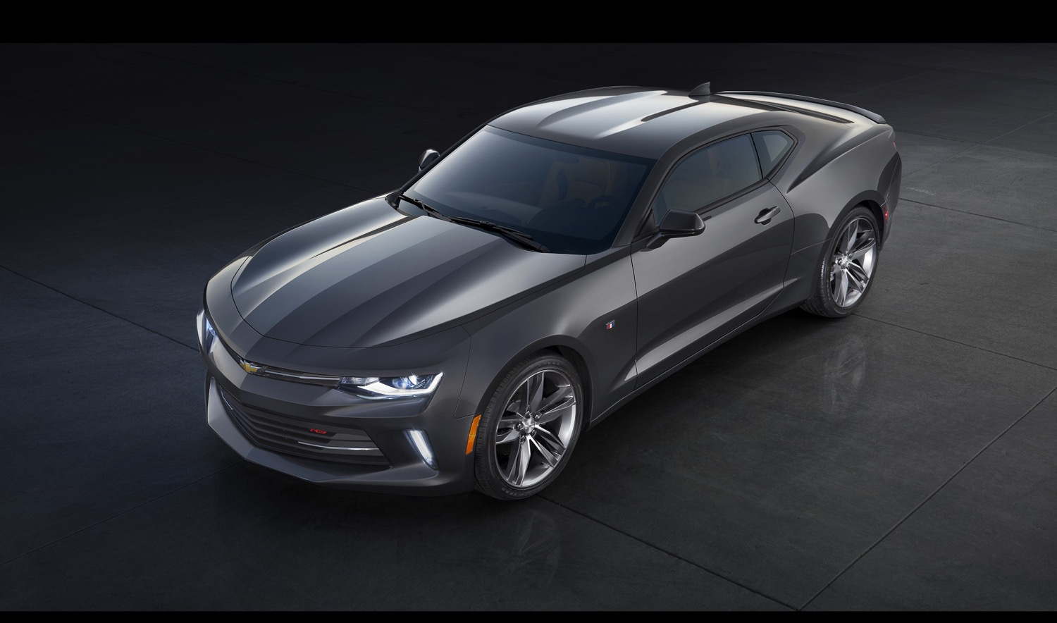 Grey 2016 Camaro RS