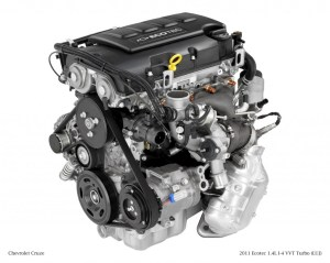 GM 14 Liter Turbo I4 Ecotec LUJ & LUV Engine Info, Power