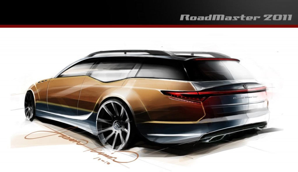 TopGear USA Buick Roadmaster Wagon 2011 Redesign Cool Modern