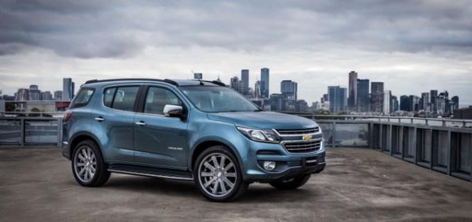 2016 Chevrolet Trailblazer Premier Show Car exterior 003