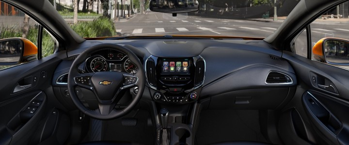 2018 Chevrolet Cruze Hatch Interior Colors GM Authority